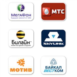 Операторы сотовой связи Малых Дербетов